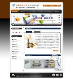 杰華精密工業(繁簡英)網站設計/製作